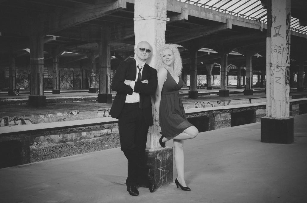 Steffi und David